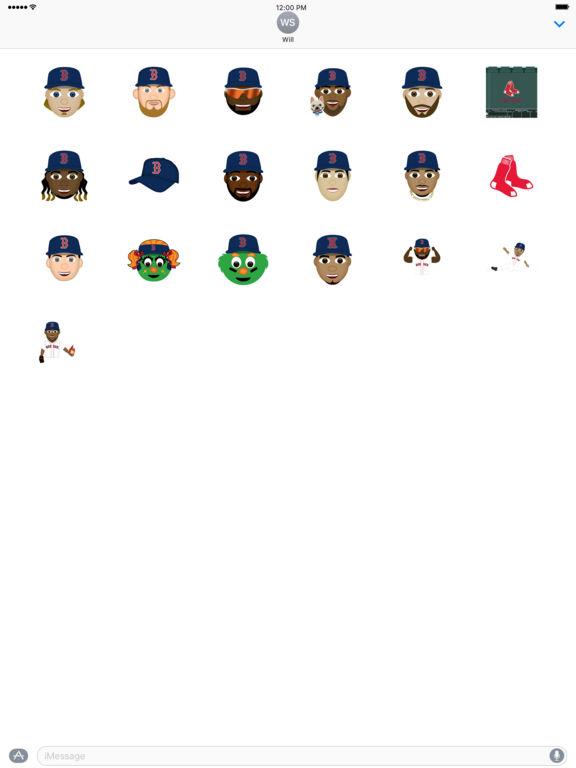 Boston Red Sox 2016 MLB Sticker Pack screenshot 4