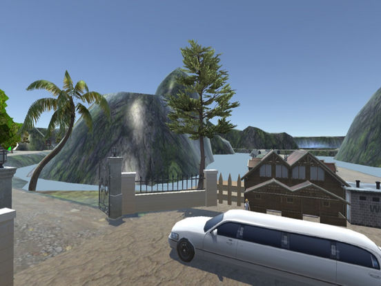 Off-Road Limousine Simulation : Crazy ride on hill screenshot 5