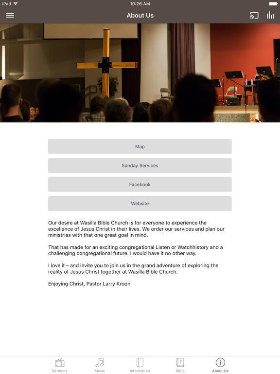 Wasilla Bible Church screenshot 6