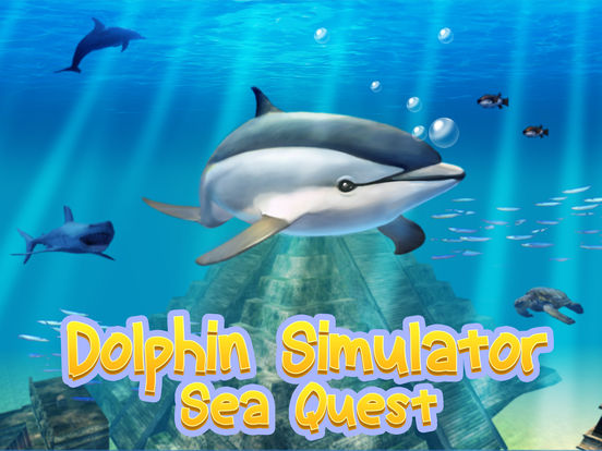 Ocean Dolphin Simulator: Animal Quest 3D screenshot 5