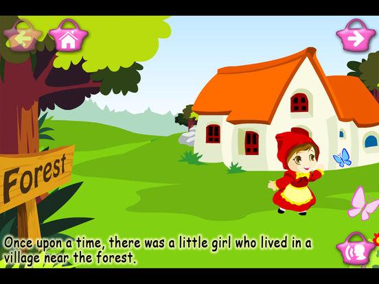 Little Red Riding Hood (Kids Story Book) screenshot 6