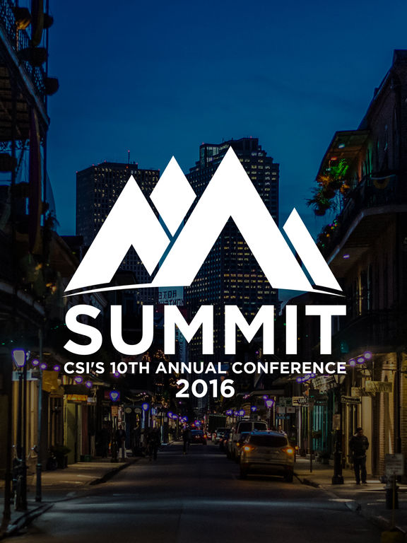 CSI Summit 2016 screenshot 4