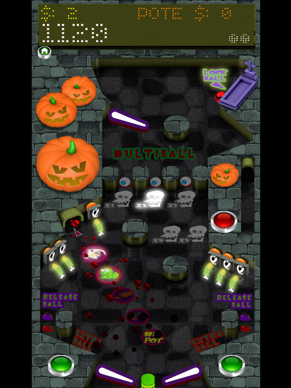 Pinball Halloween Full screenshot 4