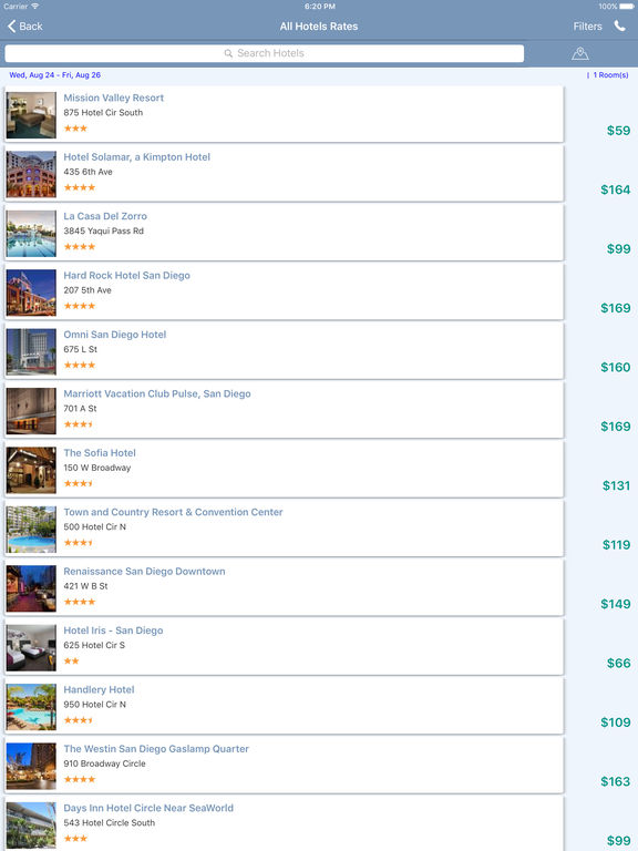 i4sandiego - San Diego Hotels & Yellow Pages screenshot 9
