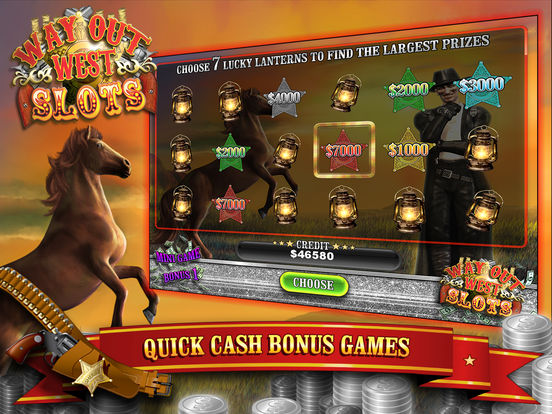 Way Out Wild West Slots screenshot 9
