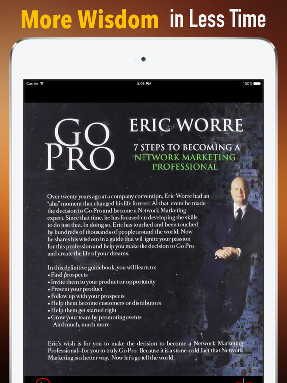Practical Guide for Go Pro~Network Marketing Tips screenshot 6