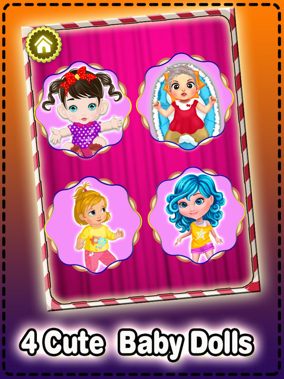 My cute baby dress up game - new dress up style for girls and boys screenshot 10