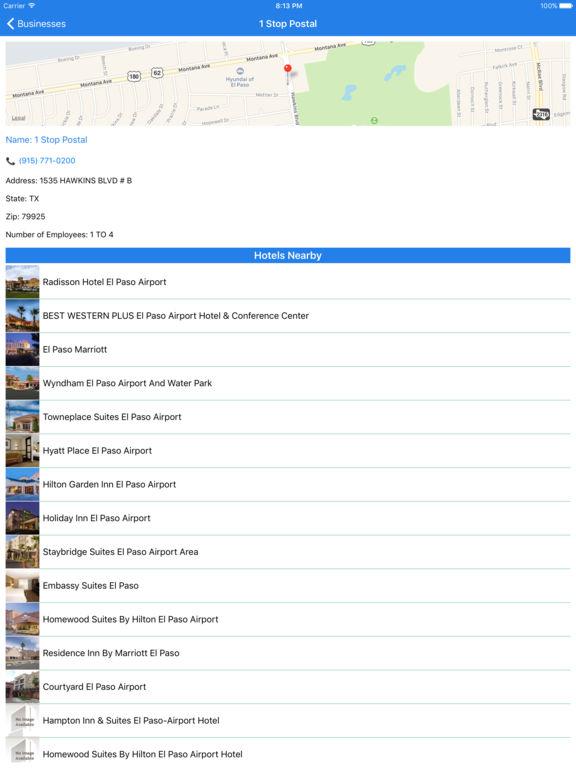 i4elpaso - El Paso Hotels & Yellow Pages Directory screenshot 9