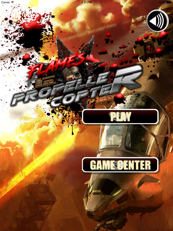 A Flames In Propeller Copter Pro - A Helicopter Hypnotic X-treme Game screenshot 5