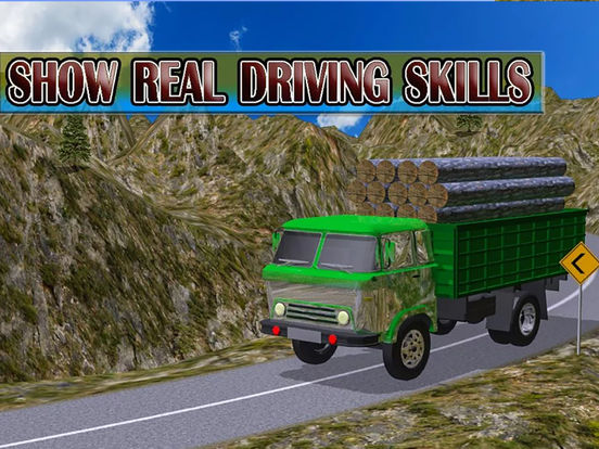 Army Delivery Truck Cargo 3d screenshot 4