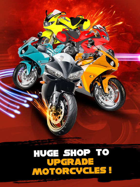 Motorcycle Street Racing : Speed Meltdown 3D screenshot 6