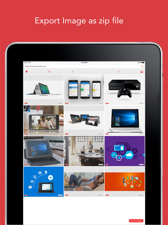 ImageCat Free - Grab any images on webpages screenshot 8