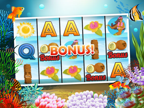 Underwater World Slot Machine - 777 Lucky Atlantis screenshot 7