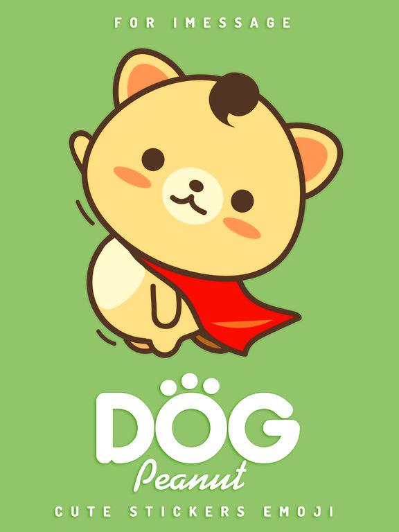 Peanut Dog Collage - Christmas and New Year Emoji screenshot 8