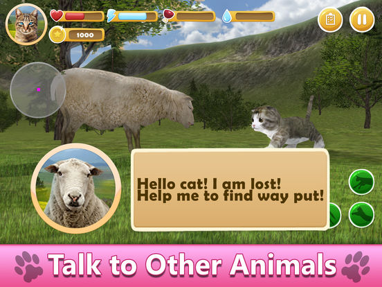 Farm Cat Simulator: Animal Quest 3D Full screenshot 7