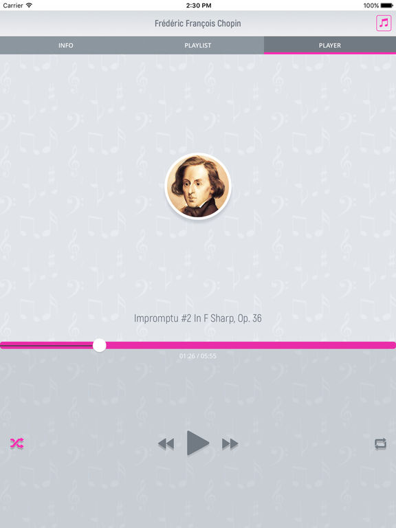 Frederic Chopin - Classical Music screenshot 8