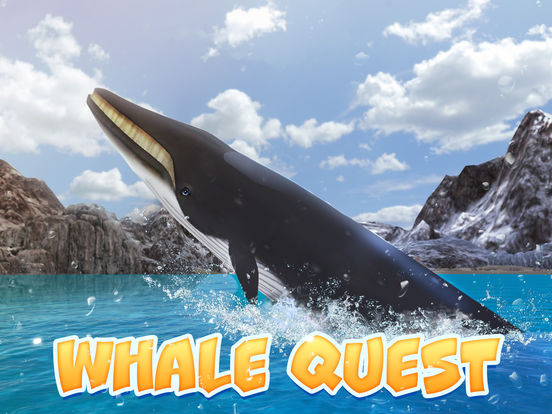 Ocean Whale Simulator: Animal Quest 3D screenshot 5