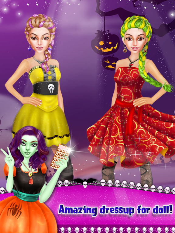 Happy Halloween Party Makeover screenshot 10