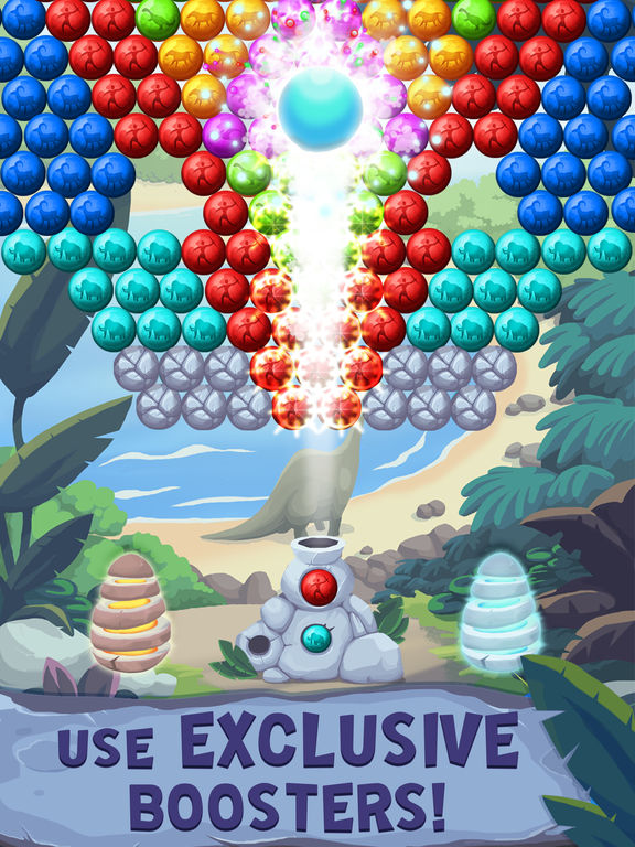 Jurassic Bubble Shooter screenshot 9