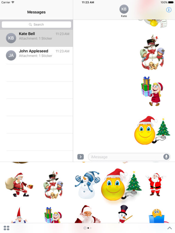 Stickers For Merry Christmas iMessage Edition screenshot 6