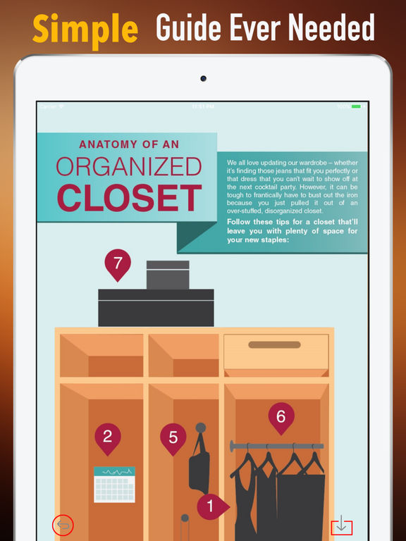 Organizing Closet Guide-Hollywood Design and Style screenshot 6