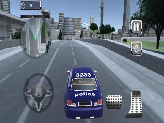 Highway Police Parking Challenge: 3D screenshot 5