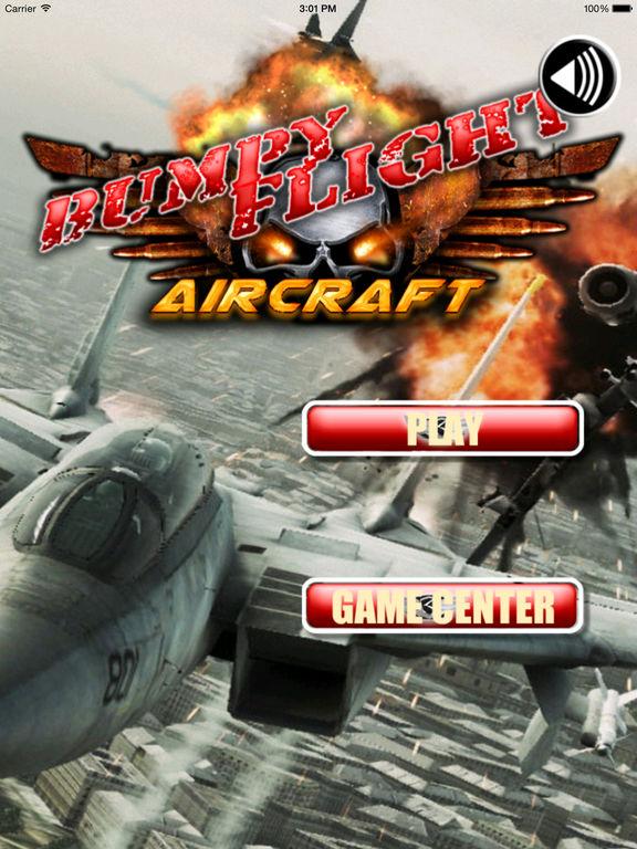 Bumpy Flight Aircraft - Amazing Fly Addictive Airforce screenshot 6