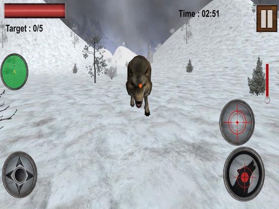 Wolf Shooting Adventure : Hunting In Snow 2016 screenshot 7