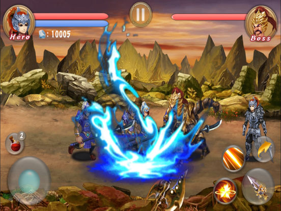 ARPG--Blade Of Dragon Hunter Pro screenshot 6