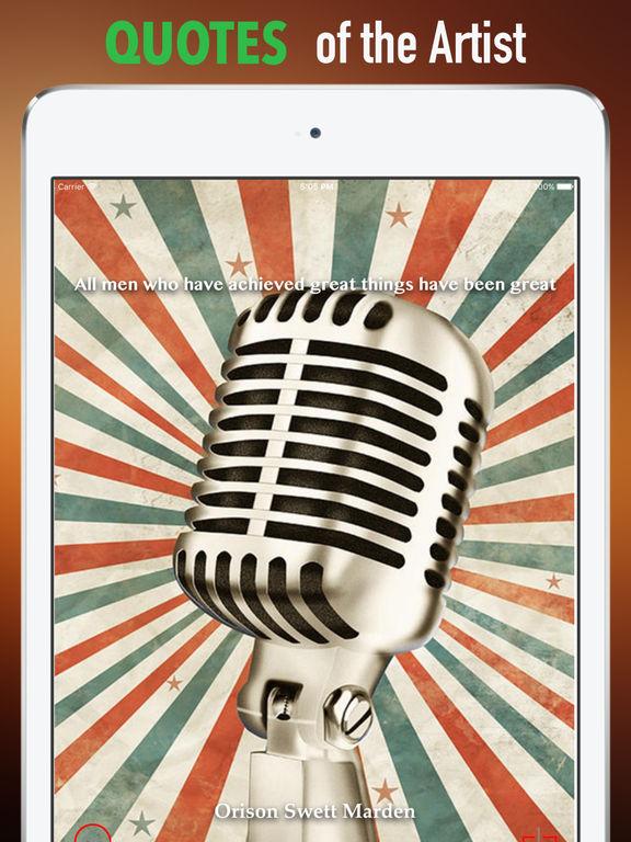 Microphones Wallpapers HD: Quotes Backgrounds screenshot 9