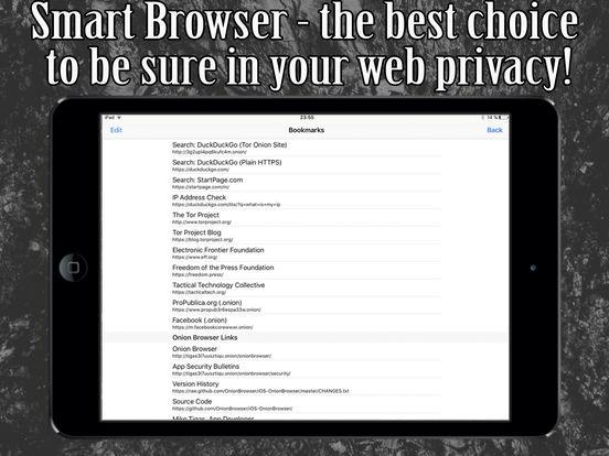 Smart Browser - Onion based TOR powered screenshot 6