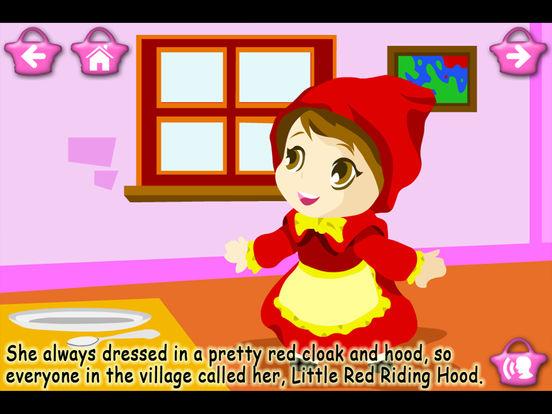 Little Red Riding Hood (Kids Story Book) screenshot 7