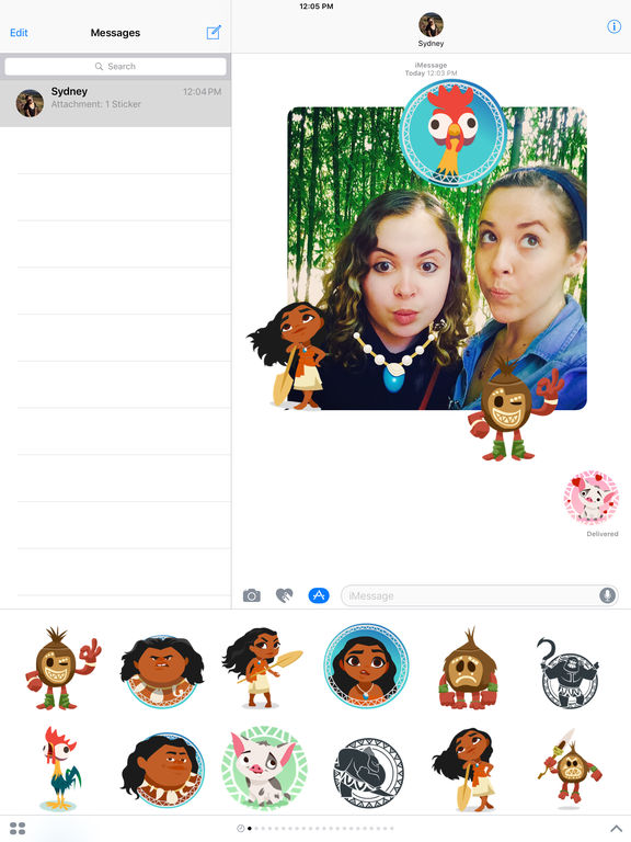 Disney Stickers: Moana screenshot 8