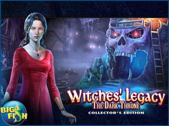 Witches' Legacy: The Dark Throne HD screenshot 5