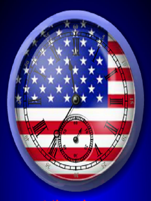 3D American Analogue Alarm Clock screenshot 2