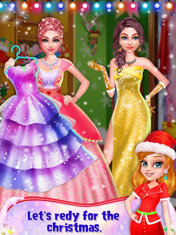 Christmas Prom Beauty Salon screenshot 10