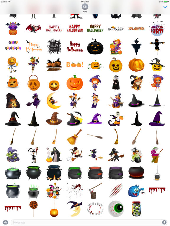 Halloween Sticker Pack - 200+ Stickers screenshot 7
