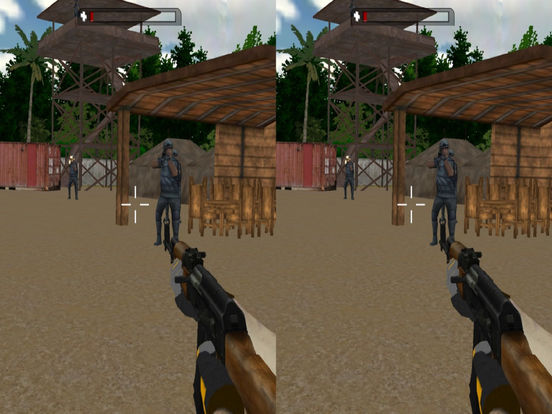 VR Real Commando Adventure : Possible Mission 2016 screenshot 4
