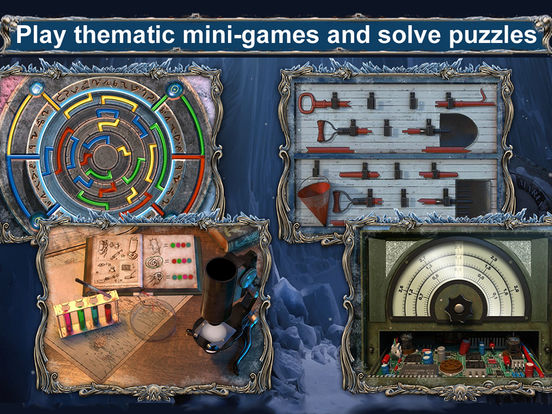 Mystery Expedition: Prisoners of Ice Hidden Object screenshot 9