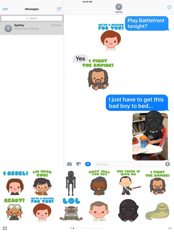 Star Wars Stickers2 screenshot 6