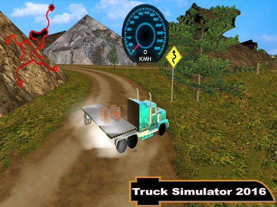 Offroad Truck Simulator : 3D Hill Climbing screenshot 4
