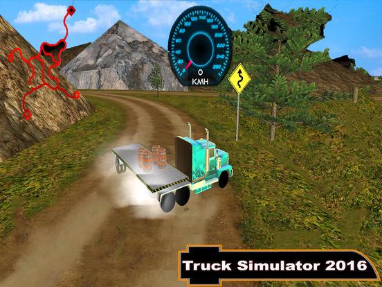Offroad Truck Simulator : 3D Hill Climbing screenshot 4