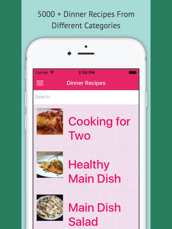 Dinner Recipes - Free Offline Recipes screenshot 4