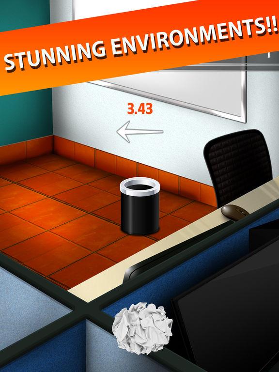 Trash Toss: Paper Flings screenshot 9