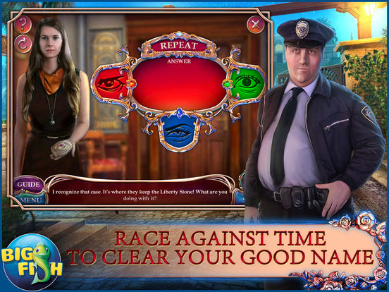 Off the Record: Liberty Stone - A Mystery Hidden Object Game screenshot 8