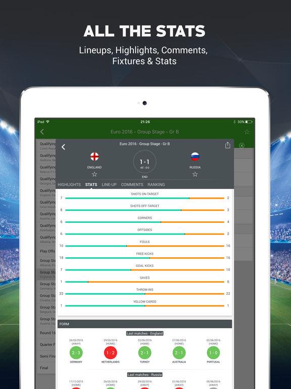 Live Soccer Scores -Skores screenshot 9