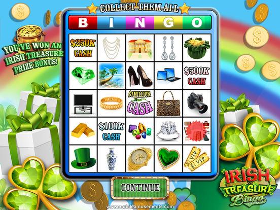 Irish Treasure Rainbow Bingo screenshot 10