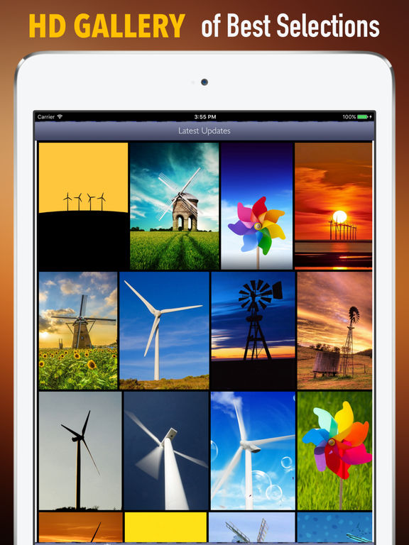 Windmills Wallpapers HD: Quotes and Art Pictures screenshot 6
