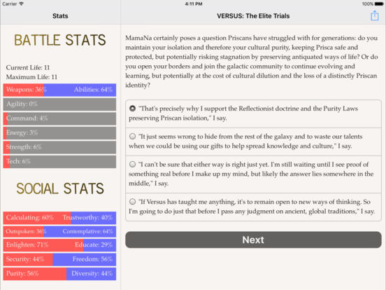 VERSUS: The Elite Trials screenshot 10