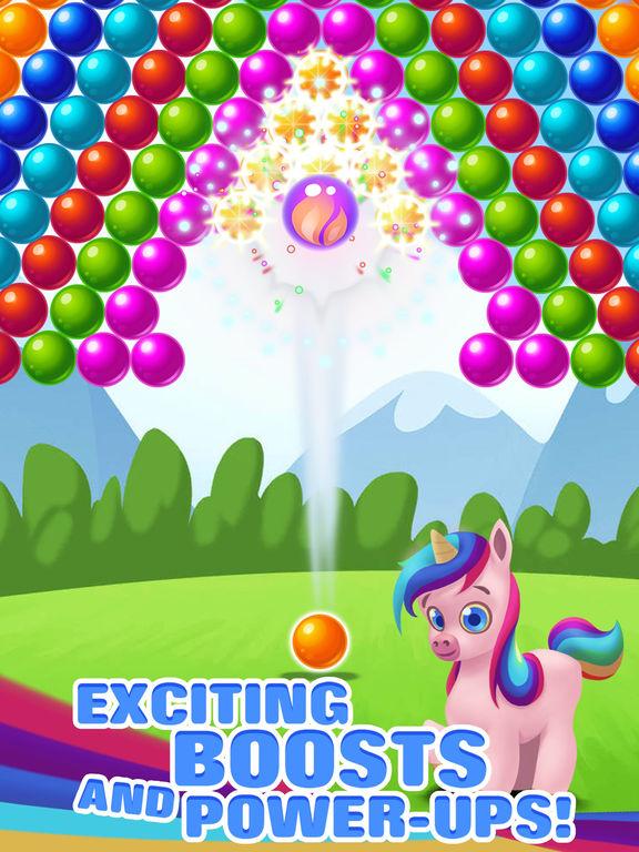 Bubble Shooter Unicorn screenshot 10